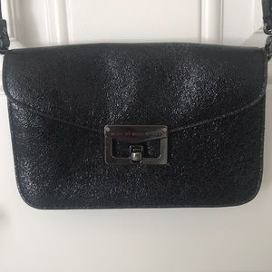 Black Leather Marc by Marc Jacobs Crossbody Bag